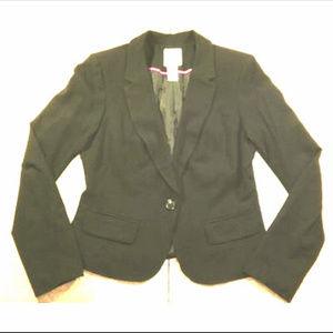 Candie's ~ Black Blazer Jacket w 1 Button